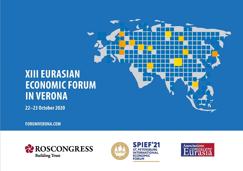 XIII Eurasian economic forum in Verona 22–23 October 2020