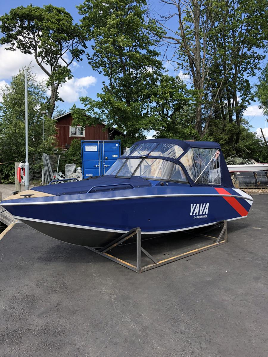 Volzhanka boats in Sweden