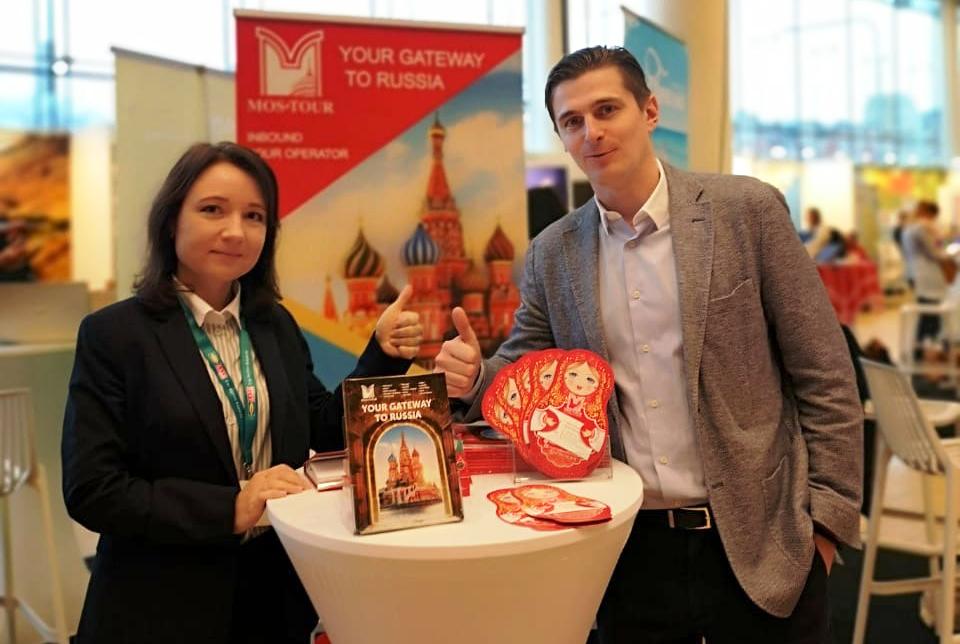 Российский туроператор «Мос-Тур» принял участие в выставке Travel News Market